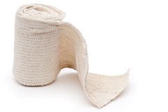 A roll of medical bandage stock images
