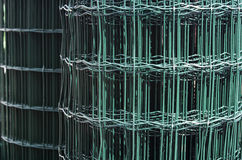 Roll of metal wire mesh Royalty Free Stock Images