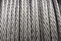 Roll of Metal Wire Strands. Construction Material - Roll of Metal Wire Strands Royalty Free Stock Image