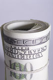 Roll of money Royalty Free Stock Photos