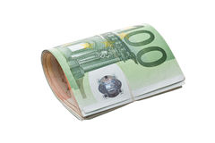 Roll of money Stock Photos