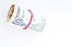 Roll of Money Royalty Free Stock Photography