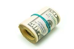 Roll money Stock Photos