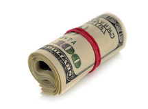 Roll of money Royalty Free Stock Image