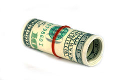 Roll money Royalty Free Stock Image