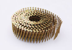 Roll of Nails Stock Images