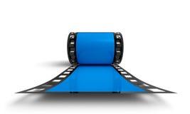 Roll of negative film Stock Photos