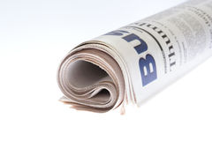 Roll of Newspaper Stock Images