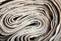 Roll of newspaper Royalty Free Stock Photography