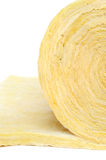 Roll Of Fiberglass Insulation Material Royalty Free Stock Photos