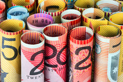 Roll Of Money Stock Image