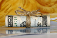 Free Roll Of Money Royalty Free Stock Photography - 3371177