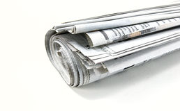 Free Roll Of Newspaper Royalty Free Stock Image - 21144046
