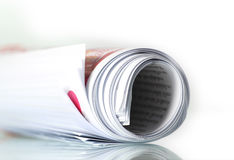 Free Roll Of Newspaper Royalty Free Stock Image - 26064306