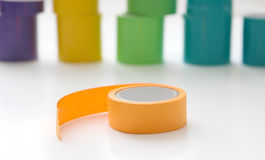 Colorful Tape Royalty Free Stock Photo