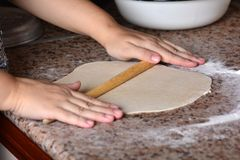 Roll out the dough Royalty Free Stock Photos