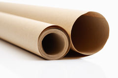 Roll of packing paper Royalty Free Stock Image