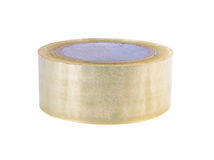 Roll of packing tape royalty free stock image