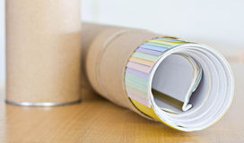 Roll of paper. Royalty Free Stock Photos