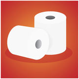 Roll paper Royalty Free Stock Photos