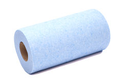 Roll of paper kitchen towels Stock Photo