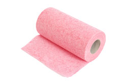 Roll of paper kitchen towels Stock Photography
