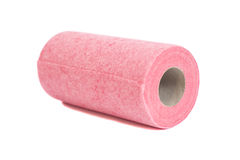 Roll of paper kitchen towels Royalty Free Stock Photos
