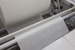 Roll paper machine Stock Photos