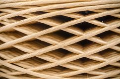 Roll paper twine cord Stock Images