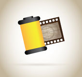 Roll photographic Royalty Free Stock Photos