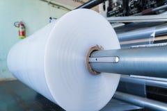 Roll of polyethylene or polypropylene bags royalty free stock photo