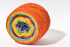 Roll of rainbow Stock Photo