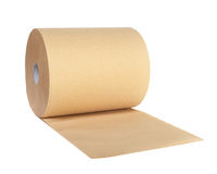Roll of recycled paper Stock Image
