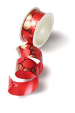 Roll of Red Ribbon Stock Photos