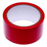 Roll of Red Tape Royalty Free Stock Image