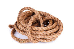 Roll of rope Royalty Free Stock Images