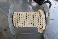 Roll of the rope Stock Images