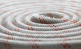 Roll of rope Stock Image