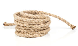 Roll of rope Royalty Free Stock Photography