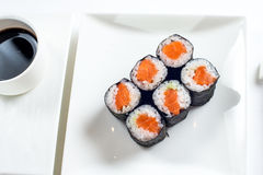 Roll are served on the table with Stock Photos