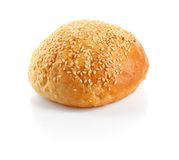 Roll with sesame Stock Image