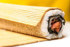 Roll with sesame seeds Stock Image