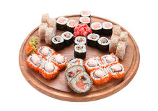 Roll set isolated Royalty Free Stock Photography