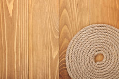 Roll of ship rope Royalty Free Stock Photography