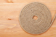 Roll of ship rope Stock Photography