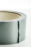 Roll of silver adhesive tape Royalty Free Stock Image