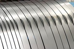 Roll of steel Stock Photography