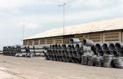 Roll of steel Royalty Free Stock Images