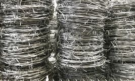Roll steel mesh wire royalty free stock images
