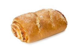 Roll with a stuffing. Stock Photography